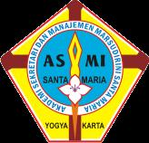 Lambang ASMI Santa Maria / Catatan Adi