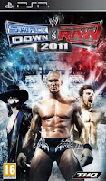 WWE SmackDown vs. RAW 2011 PSP ISO ANDROID