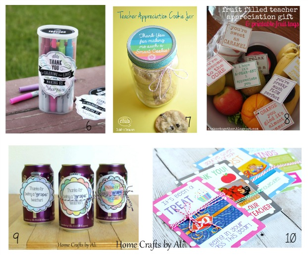 quick easy teacher appreciation gifts school supplies treats
