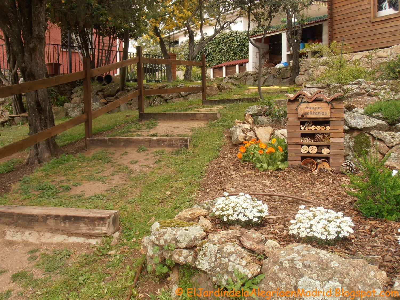 El jard n de la alegr a c mo realizar un hotel de for Ahuyentar abejas jardin