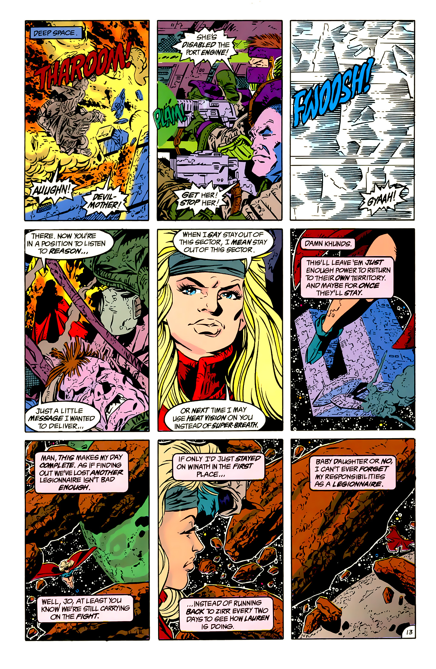 Legion of Super-Heroes (1989) 13 Page 13