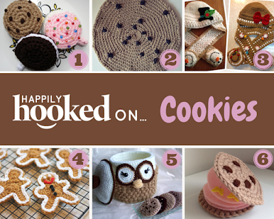 National Chocolate Chip Cookie Day CROCHET STYLE!