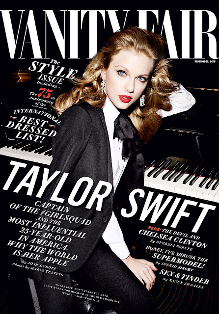 Taylor Swift as a Bombshell in Vanity Fair