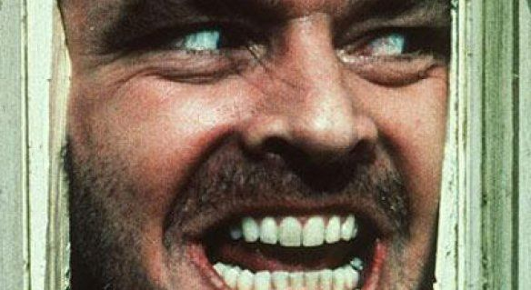 Here's Johnny! Jack Nicholson in 'The Shining'