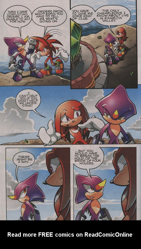 Read online Sonic The Hedgehog comic -  Issue #204 - 21