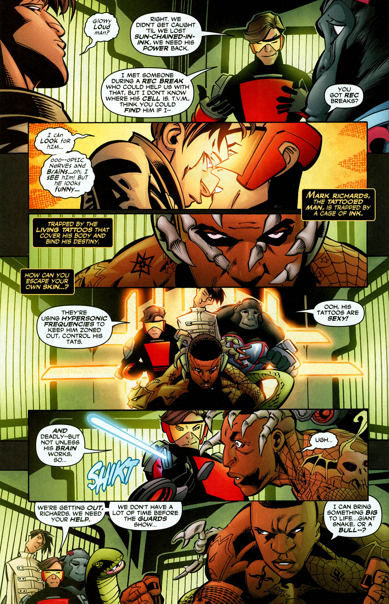 Read online Trinity (2008) comic -  Issue #27 - 28