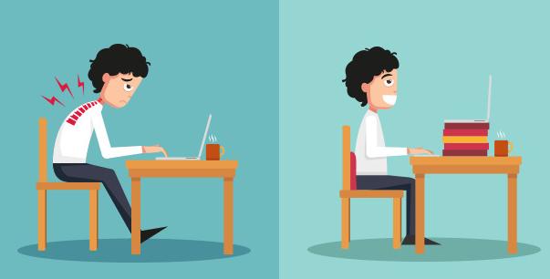 """เรียนภาษาอังกฤษกับประโยค [You Might Have Office Syndrome Symptoms.] : [คุณอาจมีอาการ """"ออฟฟิซ ซินโดรม"""" ก็เป็นได้นะ]"""