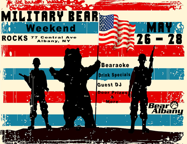 Military Bear Weekend - May 26-28th 2017