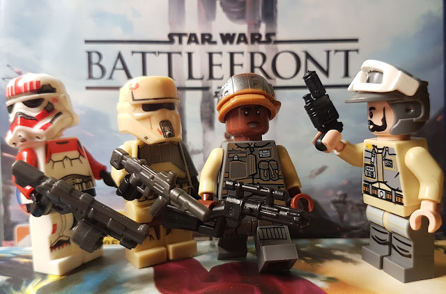 Stormtroppers, rebels, Lego Star Wars Battlefront