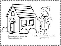 Aprender Es Divertido 1º Y 2º Dibujos Para Pintar Sobre Los