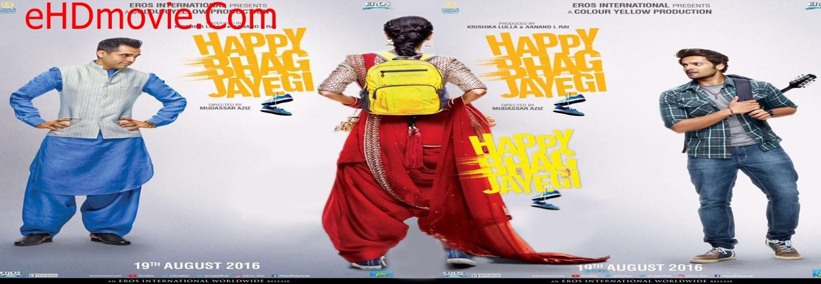Happy Bhag Jayegi 2016 Full Movie Hindi 720p - 480p ORG BRRip 400MB - 1GB ESubs Free Download