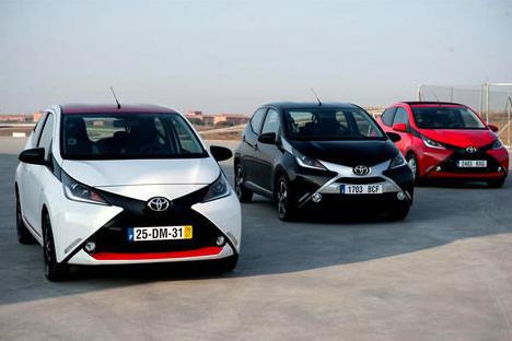 All New Aygo 2015 Toyota Terbaru Akan hadir Di Indonesia
