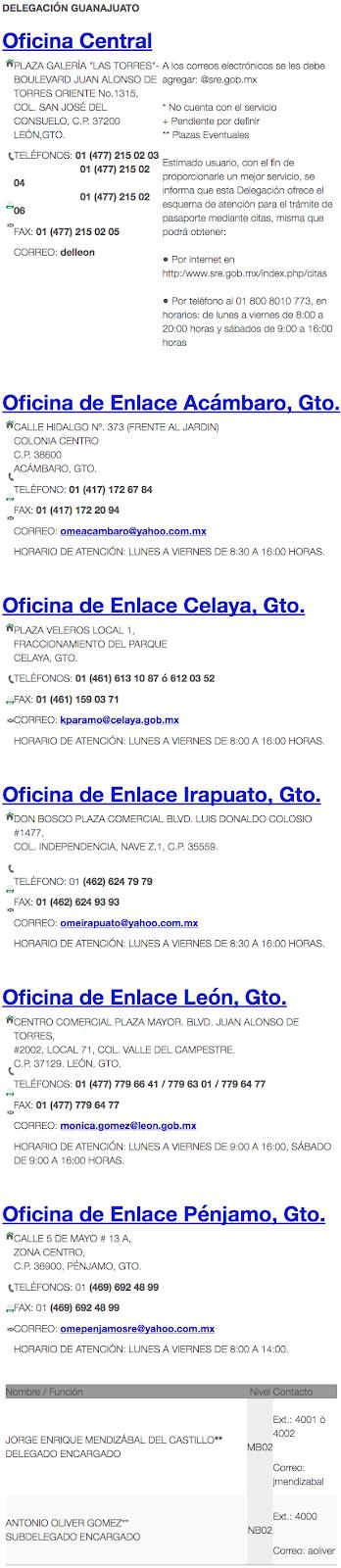 ¿Cuanto cuesta el pasaporte en Guanajuato? ¿Cuales son los precios de pasaporte y renovacion?