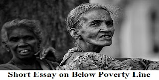 Below Poverty Line