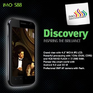 Review HP Imo S88 Discovery Terbaru