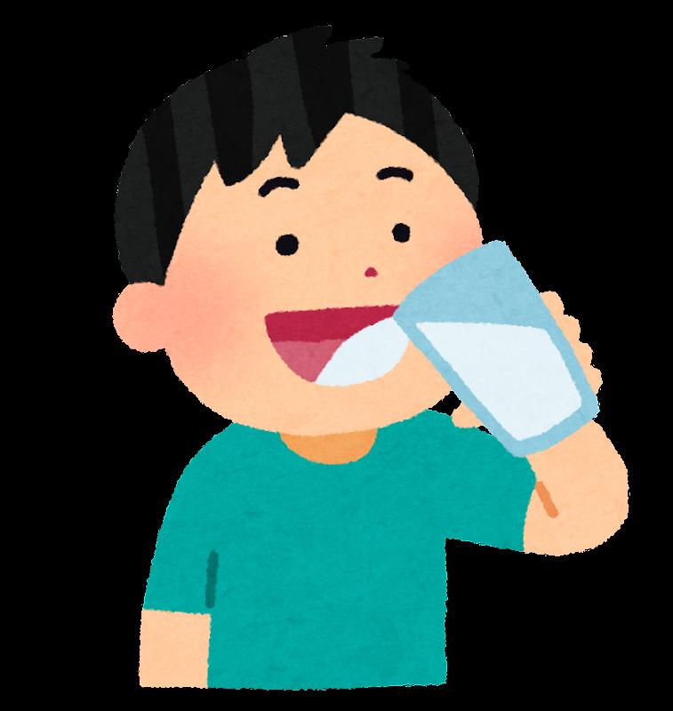 「水を飲む イラスト」の画像検索結果
