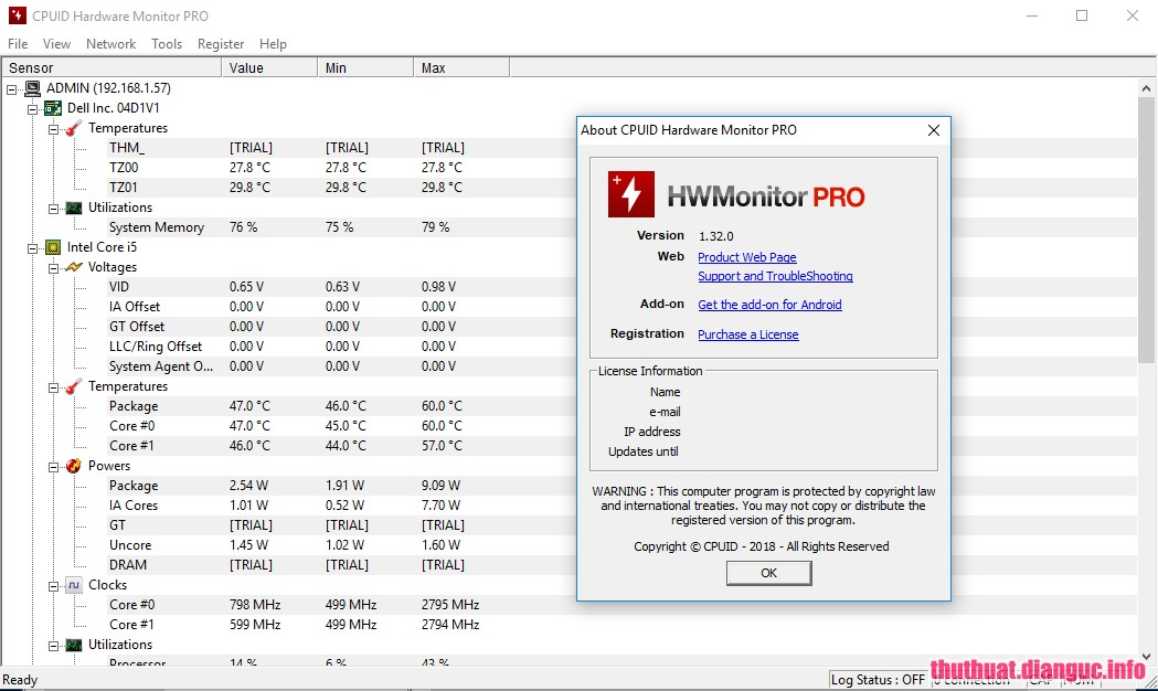 Download CPUID HWMonitor Pro 1 38 Full Crack | blogupanh
