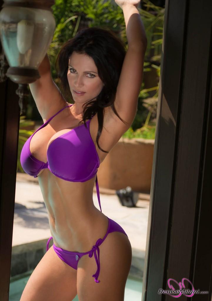 Denise Milani Hot Bikini Pics ~ Hot Actress Sexy Pics
