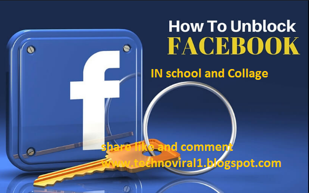 How to Use Facebook or blocked websites in school and collage