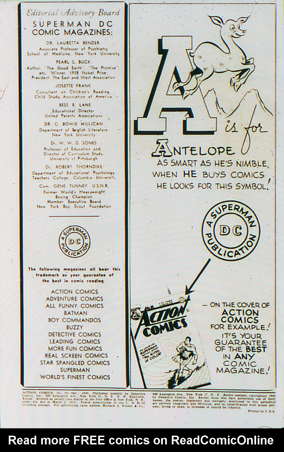 Action Comics (1938) 89 Page 1
