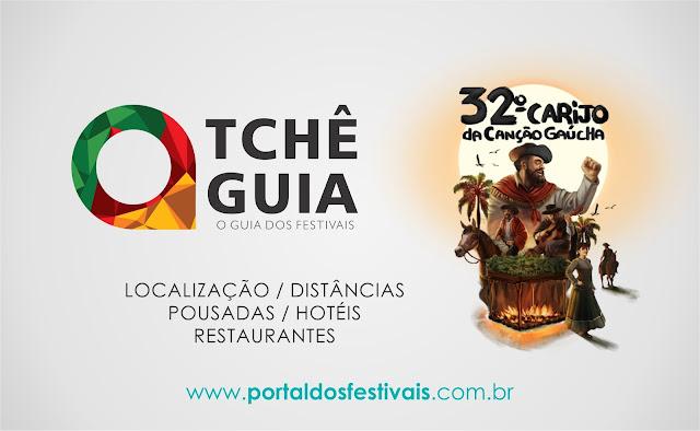 GUIA - 32º CARIJO  DA CANÇÃO GAÚCHA