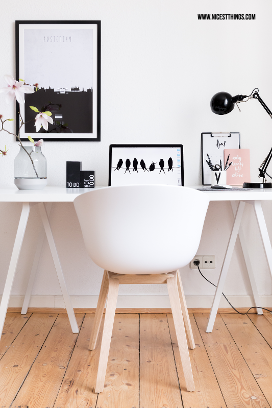 Home Office einrichten: Nordic Working Space, Hay About a Chair