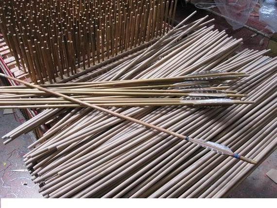 Bamboo Arrow Shafts Bamboo Craft Photo