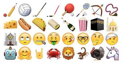 A set of new emoji in iOS 9.1