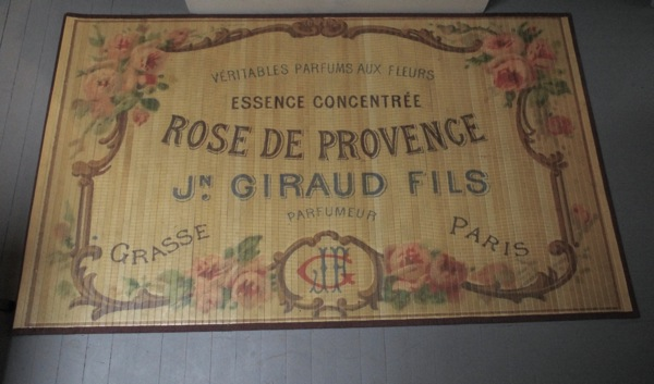 French Script Rug Area Ideas