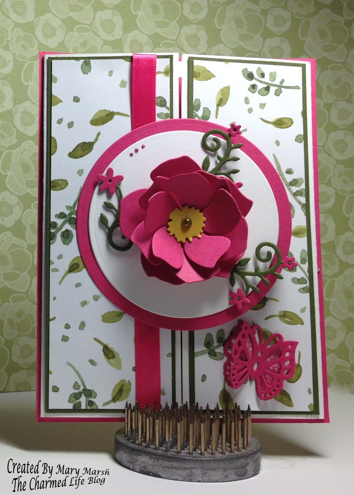 Cottageblog gate fold flower card gate fold flower card mightylinksfo