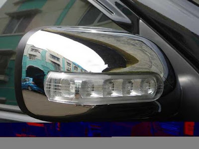 Cover Spion Chrome Avanza Vvti 2010