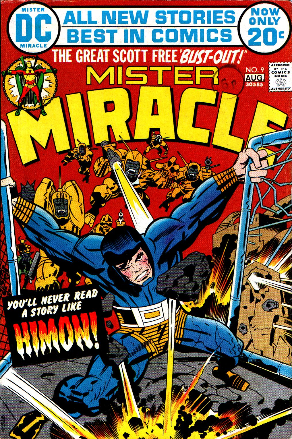 Mister Miracle (1971) issue 9 - Page 1