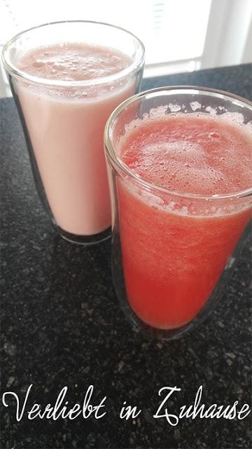 Sommer im Glas: Wassermelonen-Smoothie