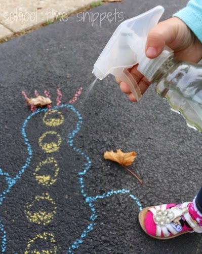 Outdoor Fine Motor Math Game