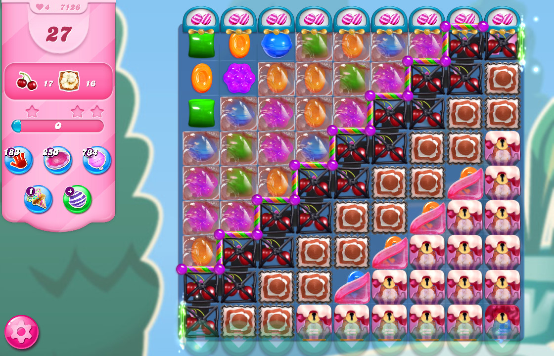 Candy Crush Saga level 7126