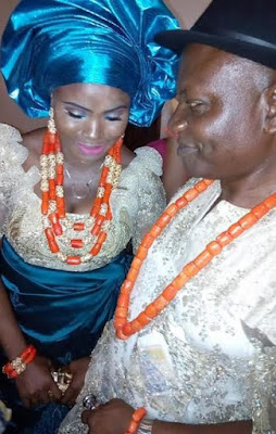 Second chance! Nigerian single mother of two remarries four years after the death of her husband (photos)