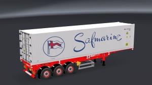 ETS2 Stobart Ports trailer mod