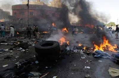 bomb explosion gombe market