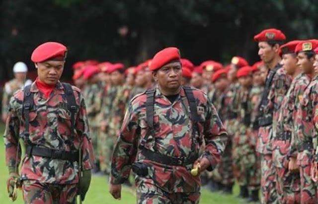 Bantu TNI Polri, 10 Ribu Kokam Jawa Barat Ikut Amankan Coblosan Pemilu