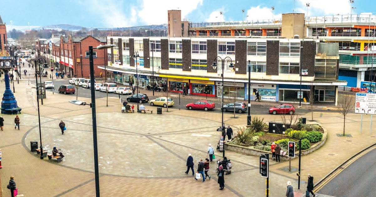 rotherham business news: News: Over 25% of floorspace in Rotherham town  centre empty