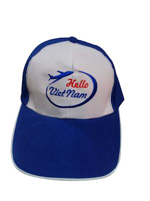 Sản xuất mũ nón quà tặng, mũ nón quảng cáo giá rẻ cho công ty du lịch hello viêt nam