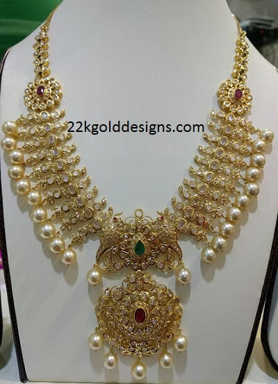 80 Grams Pachi Necklace with Pearls