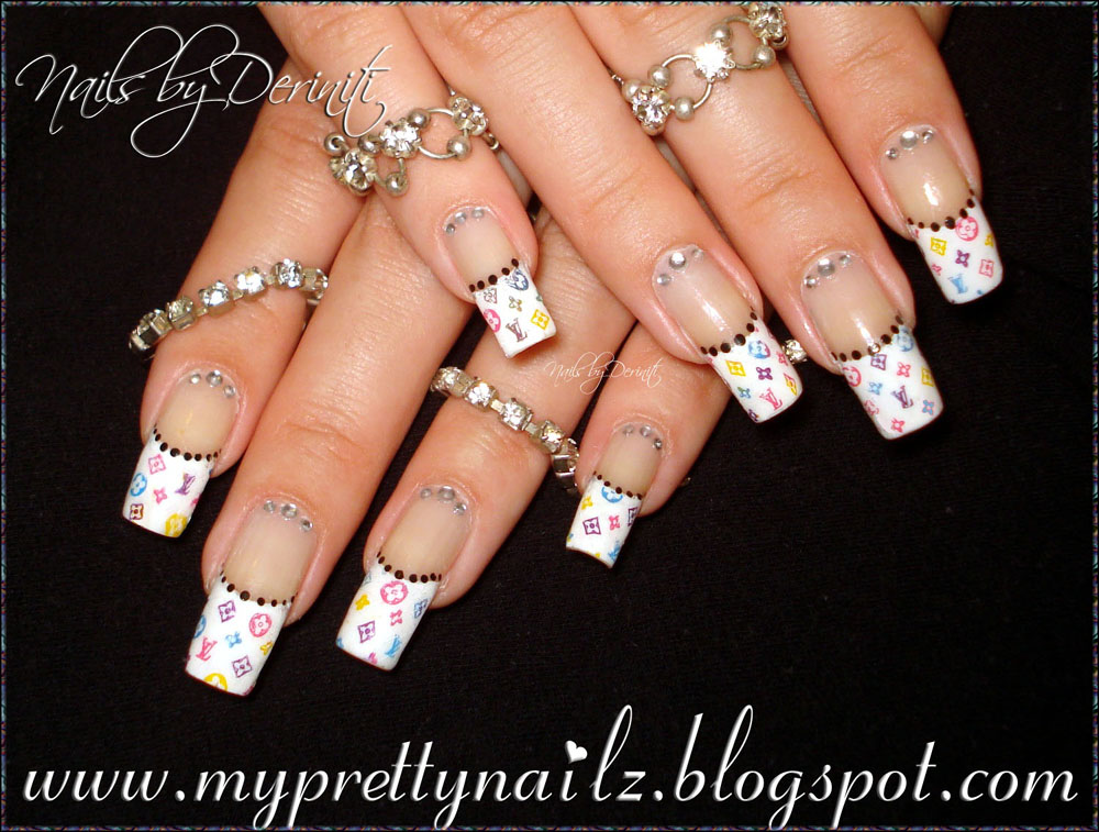 White tip gel nail designs nail art gallery white tips nail art photos white tip gel nail designs prinsesfo Images