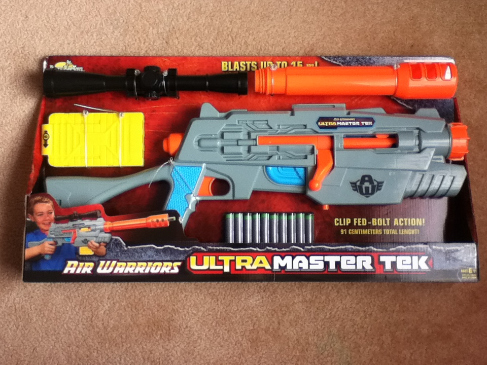 Outback Nerf Review Buzz Bee Ultra Master Tek Snipe 15m Aus Internals
