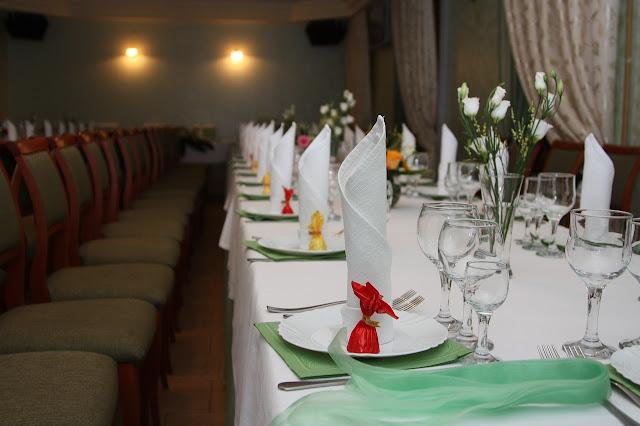 decoration de table des mariés