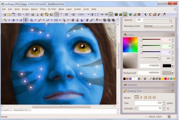 RealWorld Paint - Δωρεάν πρόγραμμα επεξεργασίας εικόνων που δεν θα σας αφήσει αδιάφορους