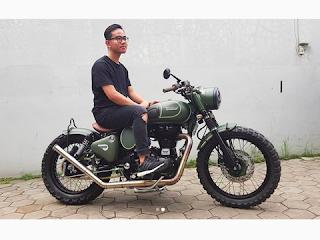 motor custom gibran anak jokowi