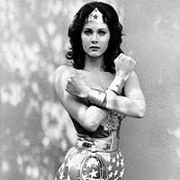 Lynda Carter Wonder Woman Square