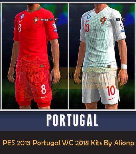PES 2013 Portugal WC 2018 Kits