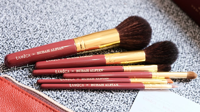 review Limited Edition Lamica X Bubah Alfian Brush Set